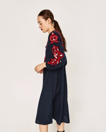75e95ac075 I also got this beautiful zipped midi dress. It has a zip down the front  with a skirt. So soft and comfortable, yes I sound like a granny but  really, ...